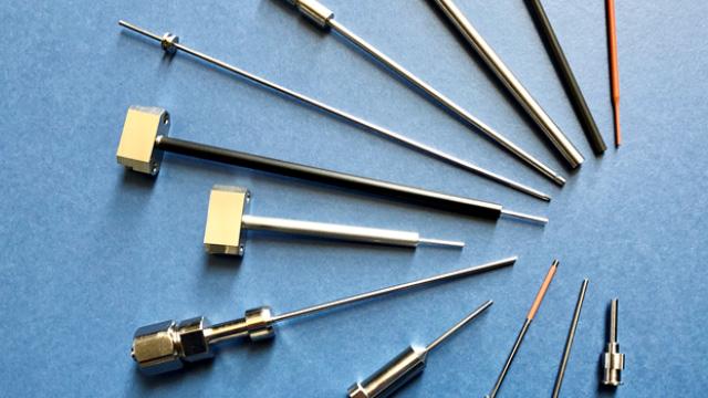 45 小径パイプ内面の非破壊粗さ測定