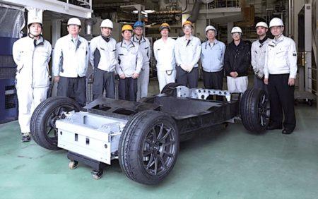 51 リサイクルCFを用いたCFRP自動車シャーシの試作